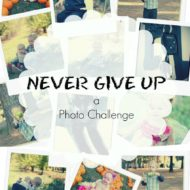 Never Give Up – I Will Not Give Up