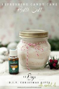 {Day 3} D.I.Y. Refreshing Candy Cane Bath Salt